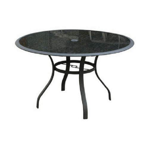 courtyard creations tgs48sg fs boston 48 round table