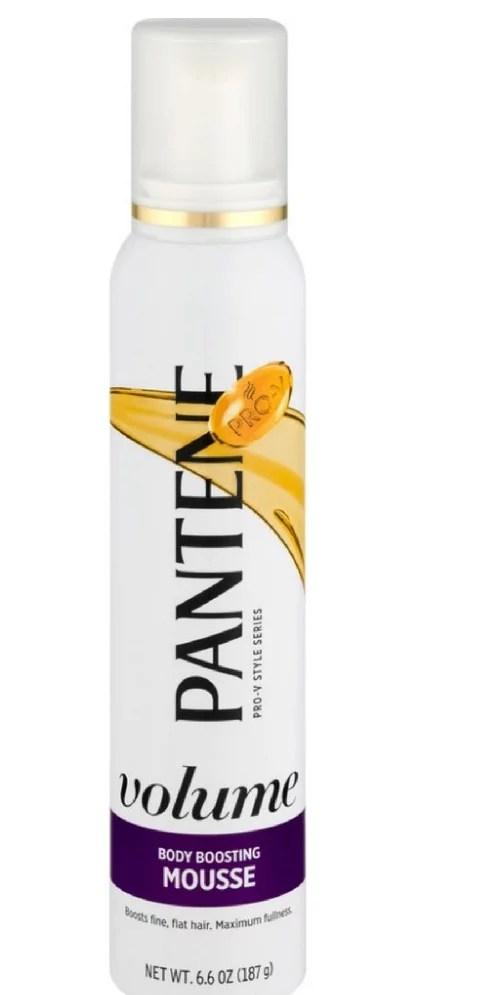 Pantene ProV Fine Hair Style Mousse Triple Action Volume