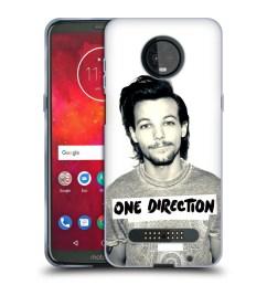 official one direction louis filter soft gel case for motorola phones [ 1600 x 1600 Pixel ]