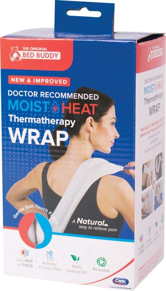 bed buddy heat pad and cooling neck wrap microwave heating pad for sore muscles cold wrap pack for aches and pain