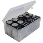 Clear Multi Battery Organizer Walmart Com Walmart Com