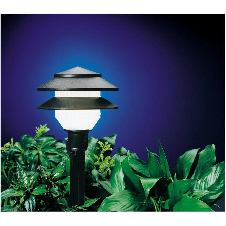 10 lights 2 tier moonray landscape kit