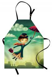 fantasy apron magical bag cartoon nanny