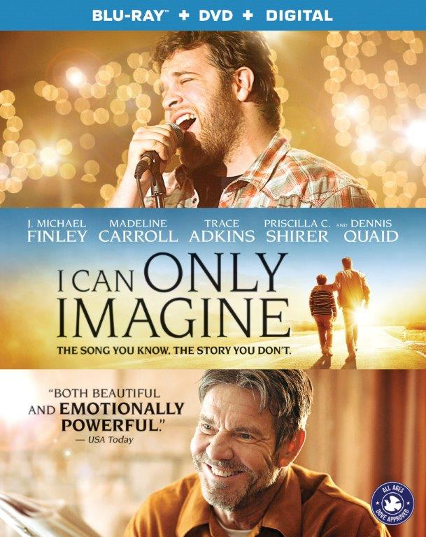 I Can Only Imagine (Blu-ray + DVD + Digital)