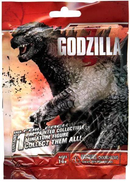 Godzilla Movie Miniature Godzilla 2014 Pack PVC Figure
