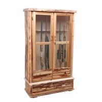 Rush Creek 8 Gun Wood Cabinet - Walmart.com