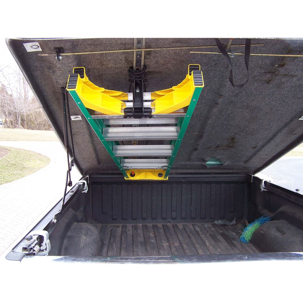 jet rack van interior ladder storage system and mounting kit