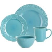 Paula Deen 16-piece Whitaker Dinnerware - Walmart.com