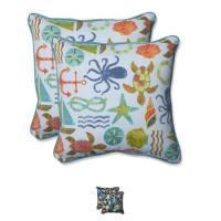 Pillow Perfect Outdoor Seapoint 18.5-inch Throw Pillow ...