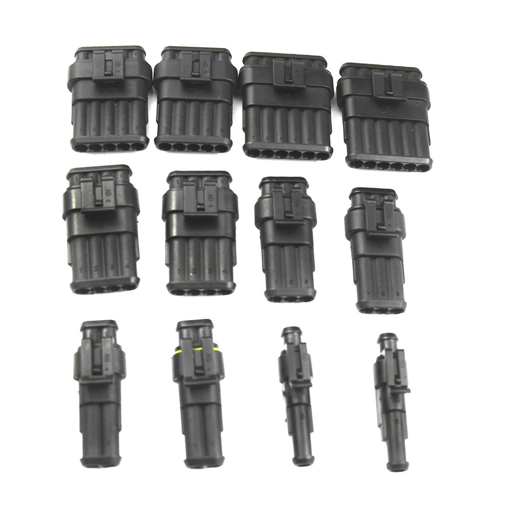 hight resolution of medium size waterproof terminal connector silicone sealed fuse box set for car