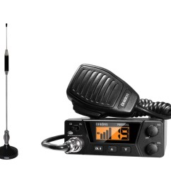 uniden pro505xl 40 channel bearcat compact cb radio and tram 703 hc center load cb antenna kit walmart com [ 1500 x 1500 Pixel ]