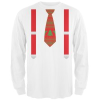 Mens Ugly Christmas Sweater Shirt With Tie - Aztec Sweater ...