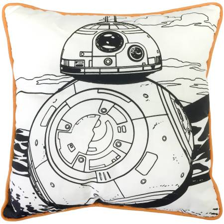 Star Wars BB-8 Color Me Pillow