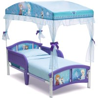 Frozen Plastic Toddler Bed with Canopy - Walmart.com