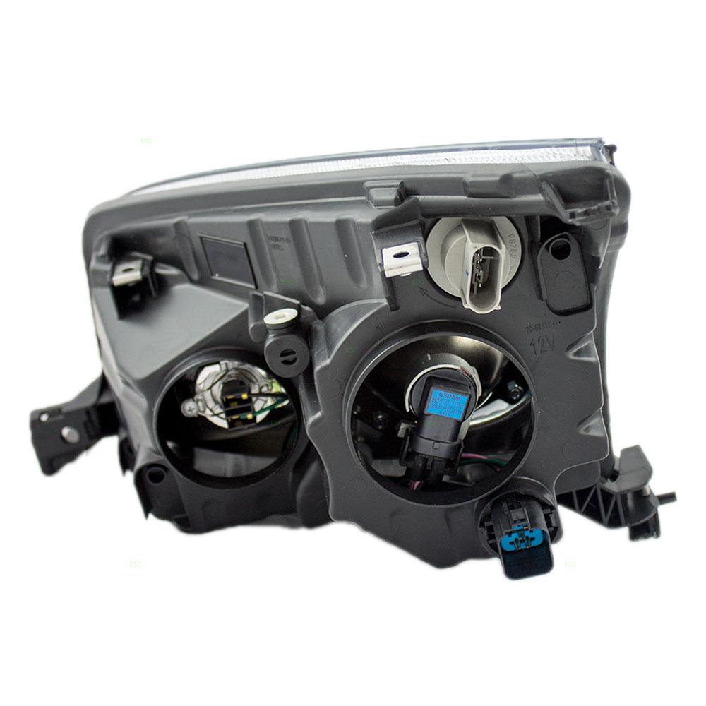 hight resolution of passengers headlight headlamp replacement for mercury 6n7z13008ac walmart com
