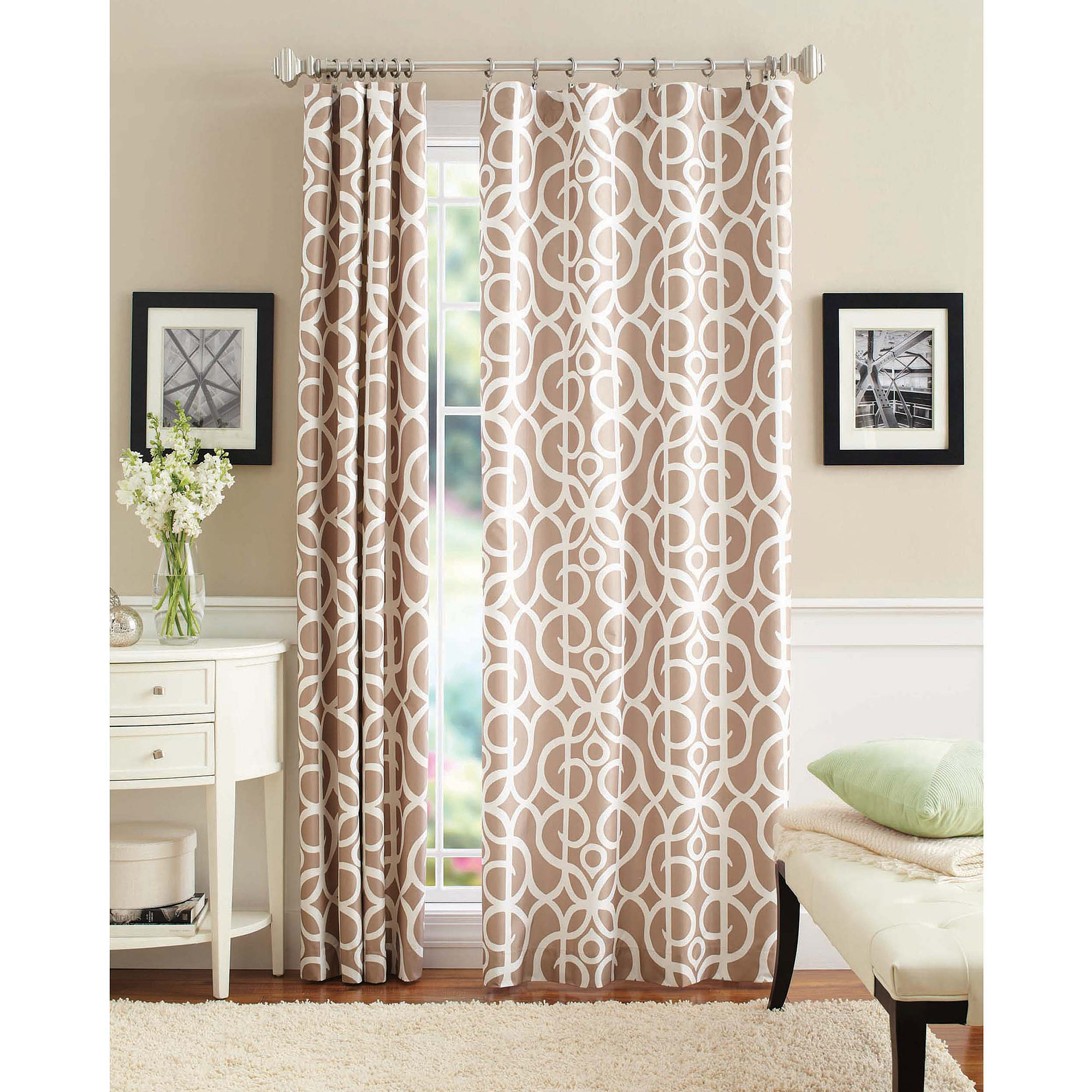 Better Homes and Gardens Marissa Curtain Panel  Walmartcom