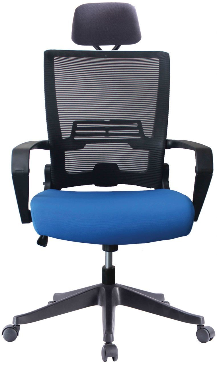 office chair high back lumbar support impecgear ergonomic mesh with adjustable headrest and folded