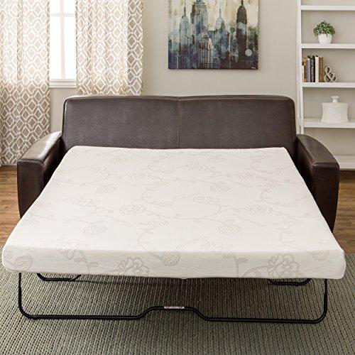 foam sofa sleeper alton reviews innerspace 4 5 inch memory full size mattress queen