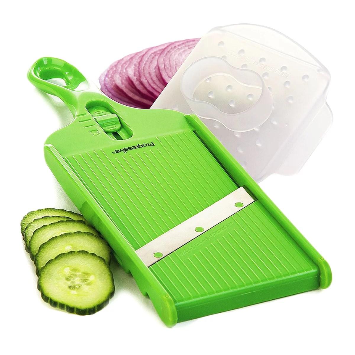 mandolin kitchen slicer industrial stools prepworks progressive adjustable hand blade vegetables walmart com
