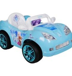 disney frozen convertible car 6 volt battery powered ride on walmart com [ 2000 x 2000 Pixel ]