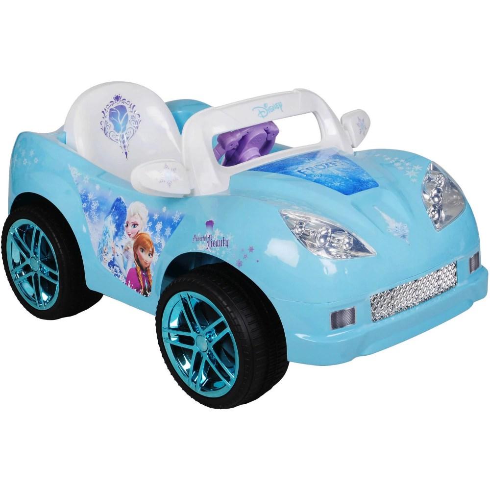 medium resolution of disney frozen convertible car 6 volt battery powered ride on walmart com