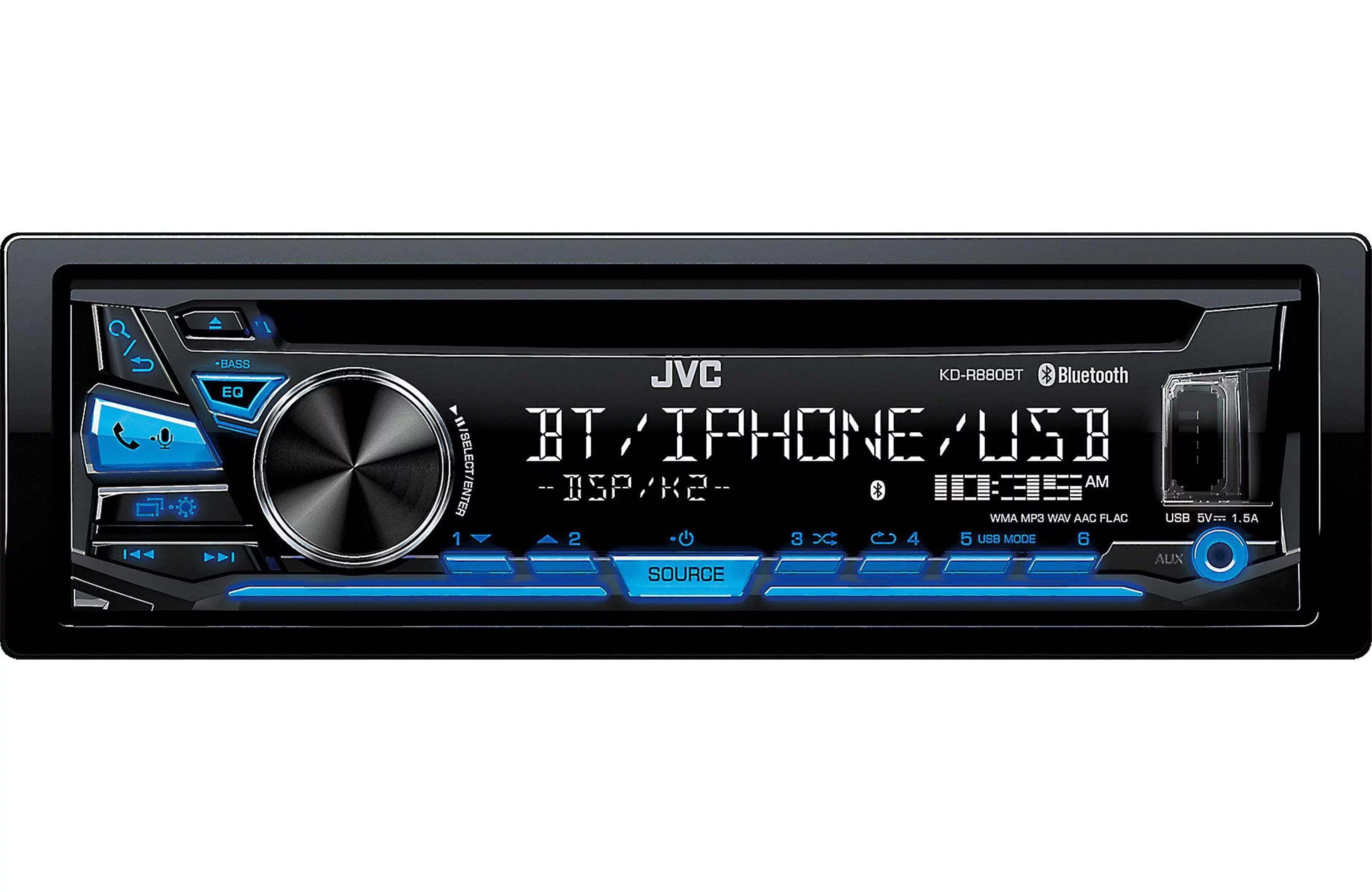 medium resolution of jvc kdsr83bt in dash cd built in bluetooth usb and detachable jvc kd r330 wiring jvc bluetooth wiring diagram