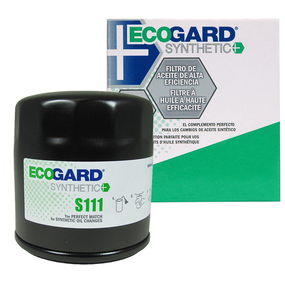 hight resolution of ecogard s111 spin on engine oil filter for synthetic oil premium replacement fits buick lesabre century regal park avenue rendezvous lacrosse