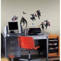 Captain America 2 Peel and Stick Wall Decals - Walmart.com