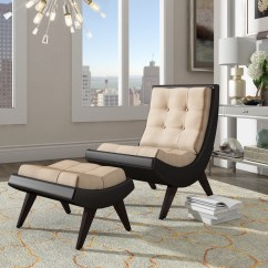Tufted Chair And Ottoman Deck Table Sets Weston Home Occasional Taupe Walmart Com
