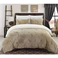Chic Home Chiara 7-Piece Sherpa Lined Bed-in-a-Bag ...