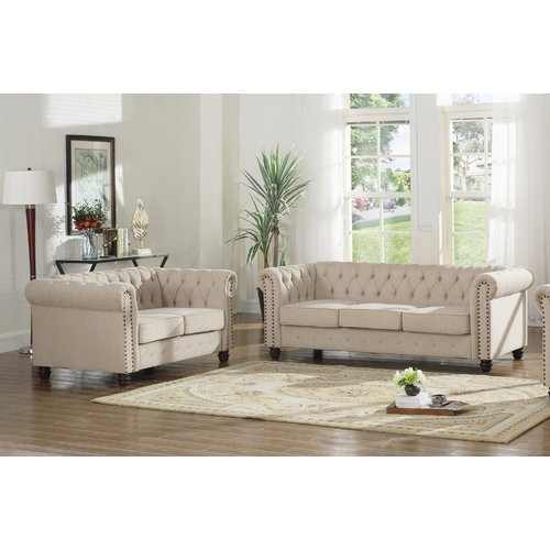2 piece living room set bungalow ideas ophelia co sharniece walmart com this button opens a dialog that displays additional images for product with the option to zoom in or out