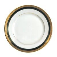 Ten Strawberry Street Sahara Black - 10 Inch Dinner Plate ...