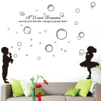 Unique Bargains Wedding Room Decor Mural Decal Wall Sticker