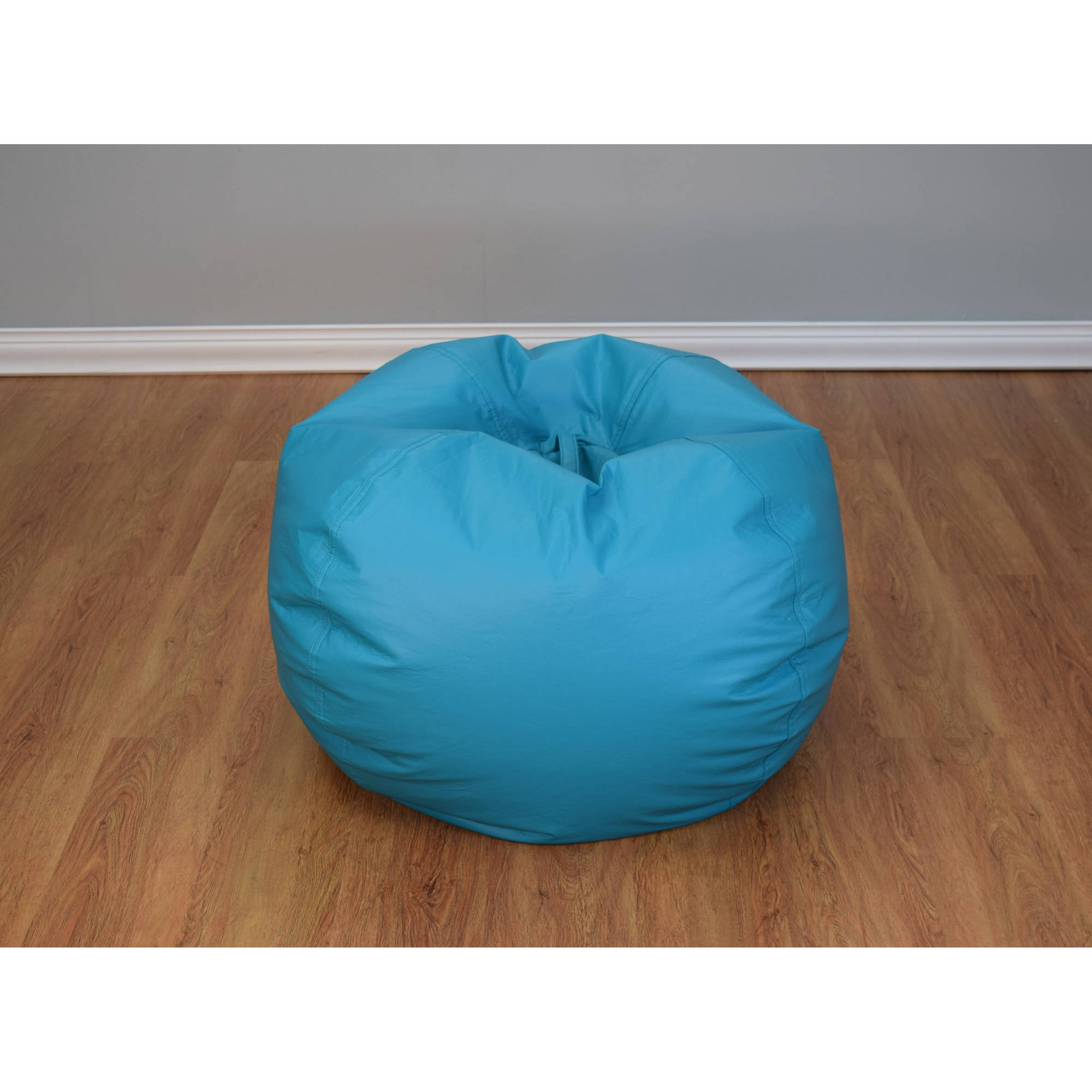 teal bean bag chair french provincial chairs jumbo multiple colors walmart com