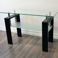 Sofa Console Tables Wood Dr Dc Nola Furniture Modena 2 Tier Glass Table Black Qty