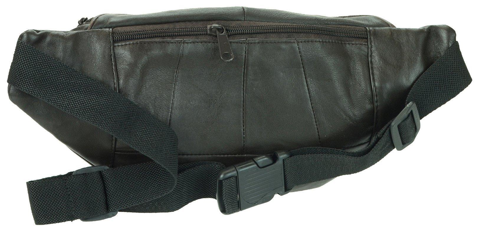 Stone Mountain Stone Mountain Mens Leather Belt Bag One