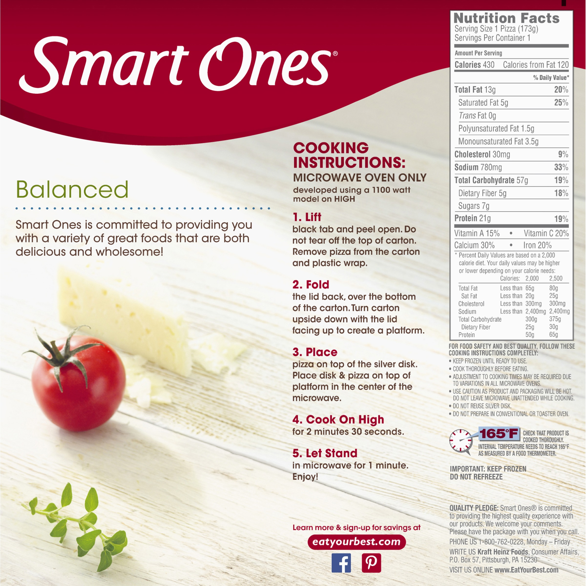 Smart Ones Nutrition Facts Nutrition Ftempo