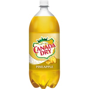 Canada Dry Pineapple Soda, 2 L - Walmart.com - Walmart.com