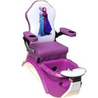 Kids Pedicure Chair FROZEN Purple Pedicure Spa Nail Salon ...
