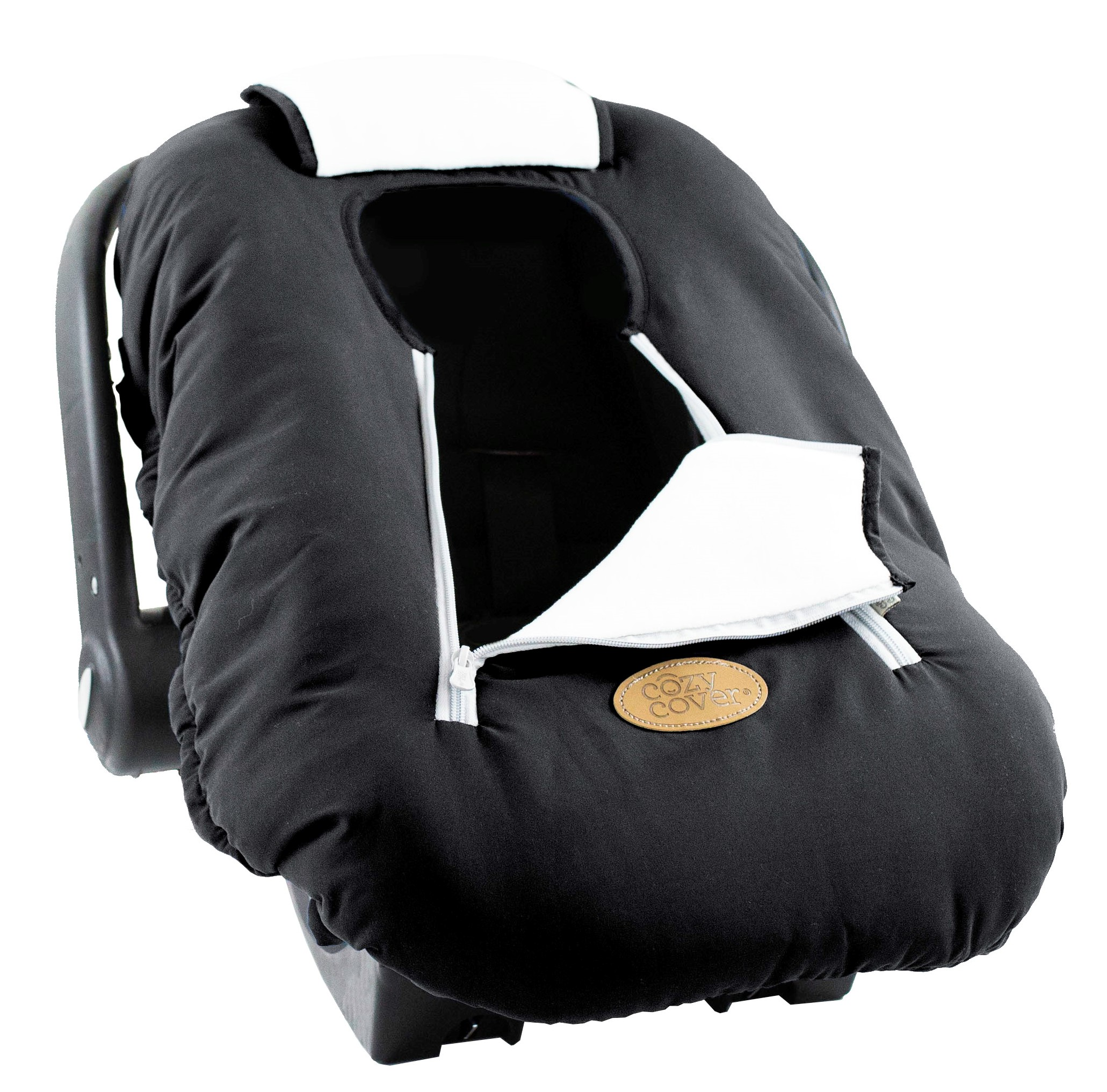 Cozy Cover Infant Carrier Cover Midnight Black Walmart Com Walmart Com