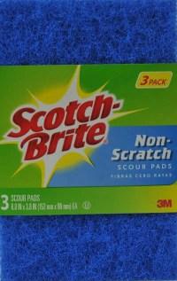 Scotch-Brite Non-Scratch Scour Pads, 3 count - Walmart.com