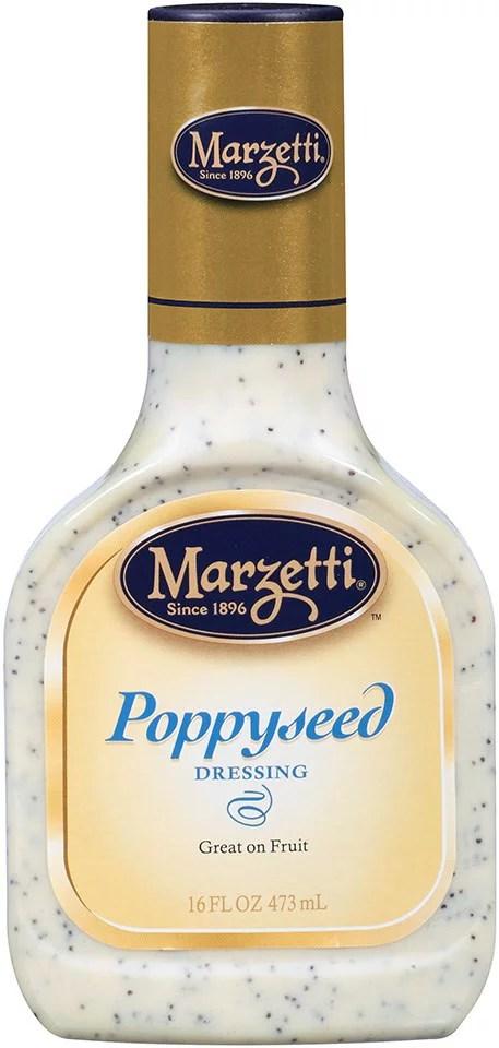 Marzetti Poppyseed Dressing 16 FL OZ Pack of 6
