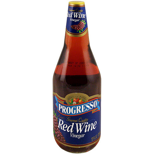 Progresso Red Wine Vinegar 12 oz Pack of 12 Walmartcom
