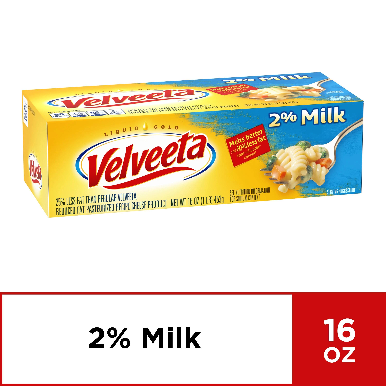 Velveeta with 2% Milk 16 oz Box - Walmart.com - Walmart.com