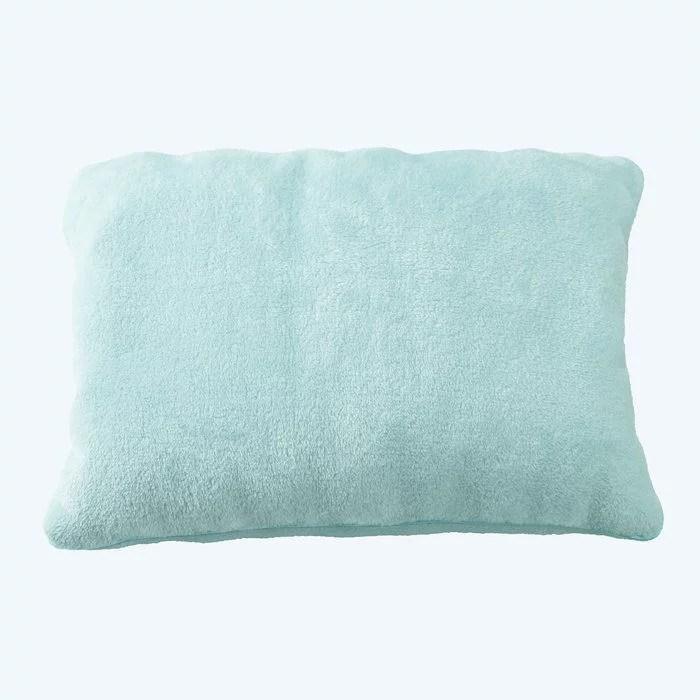 brookstone fuzzy fom pillow online