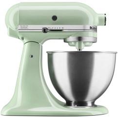 Kitchen Aid Latest Gadgets Kitchenaid Deluxe 4 5 Quart Tilt Head Stand Mixer Pistachio Ksm88pt Walmart Com