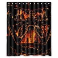 Ganma Star Wars Darth Vader On Fire Shower Curtain ...