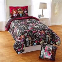 Mattel Monster High Monster Crew 4-Piece Twin Bed Set ...