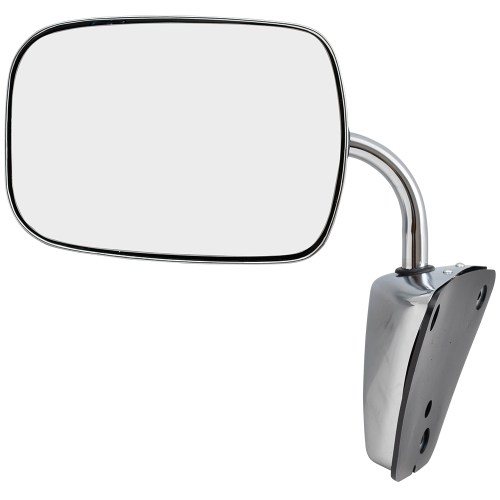 small resolution of brock manual side view stainless steel low mount mirror replacement for gmc chevrolet pickup truck suv van 996220 walmart com