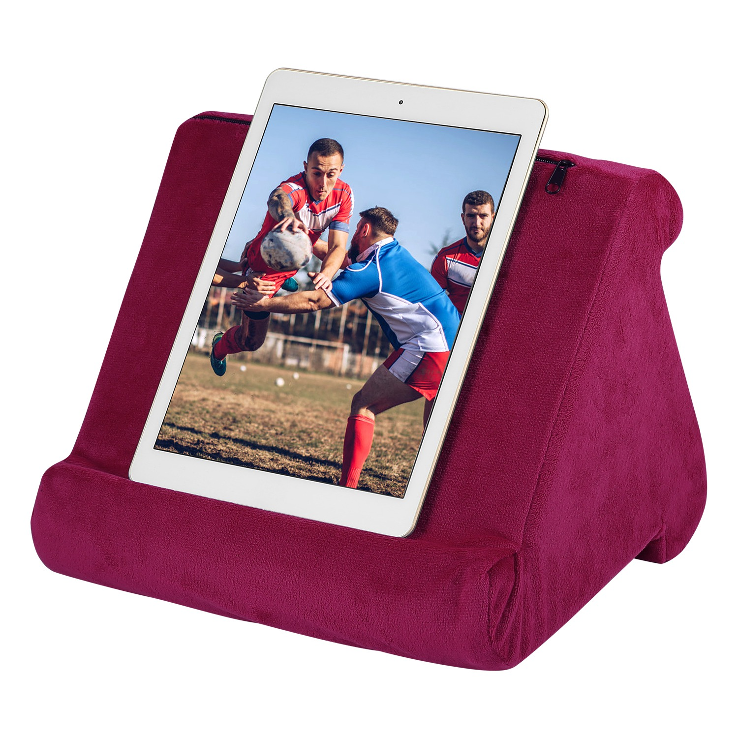 imountek multi angles soft tablet stand tablet pillow pad for ipad smartphones e readers books magazines